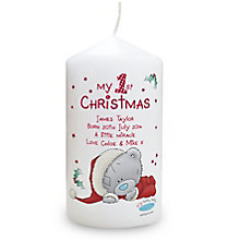 Me To You My 1st Christmas Candle - Product number 4096401