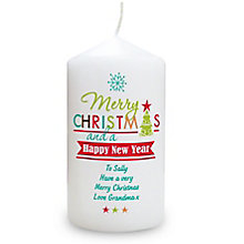 Bright Christmas Candle - Product number 4096568