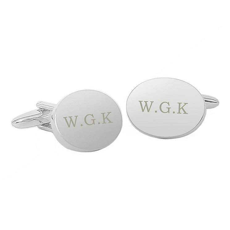 Oval Cufflinks - Product number 4098382