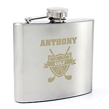 Golf Hip Flask - Product number 4098463