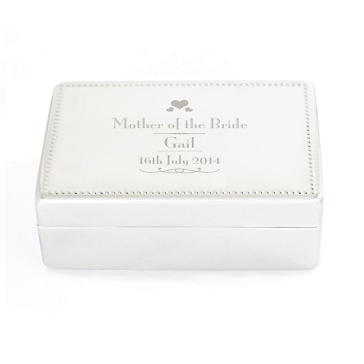 Decorative Wedding Mother of the Bride Jewellery Box - Product number 4098765