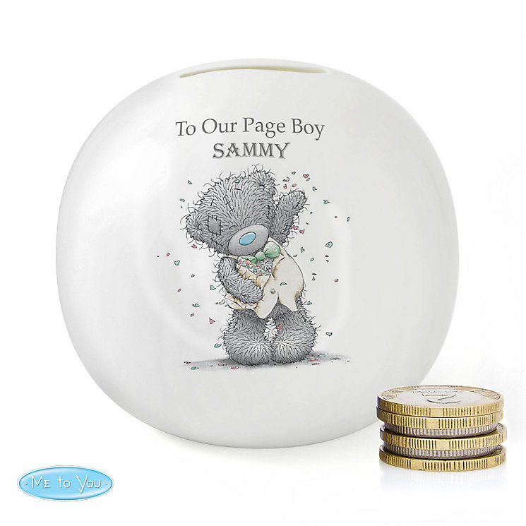 Me To You Male Wedding Money Box - Product number 4099028