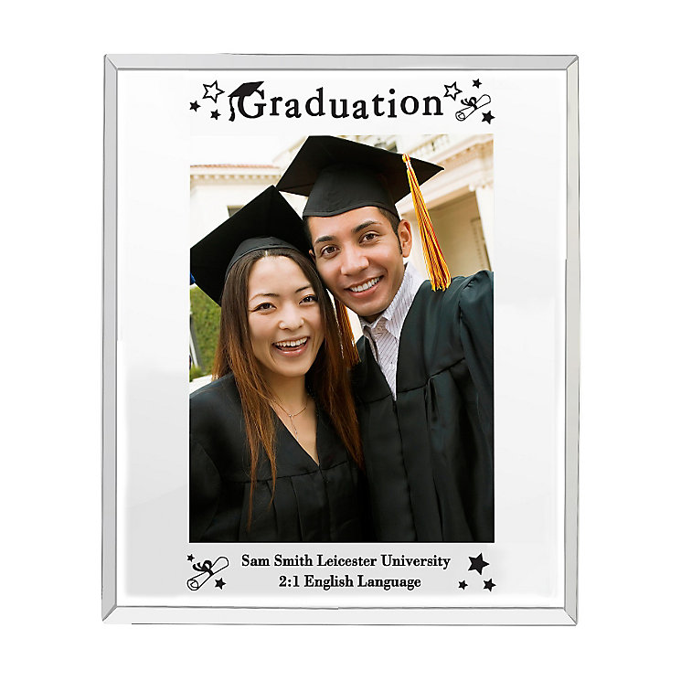 Mirrored Graduation Glass Frame 5x8 - Product number 4099222