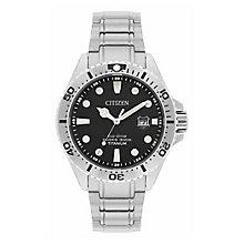 Citizen Men's Royal Marines Commando Titanium Bracelet Watch - Product number 4099257