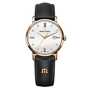 Maurice Lacroix Eliros Ladies Gold Plated Strap Watch - Product number 4108833