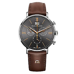 Maurice Lacroix Eliros Men's Stainless Steel Strap Watch - Product number 4108892