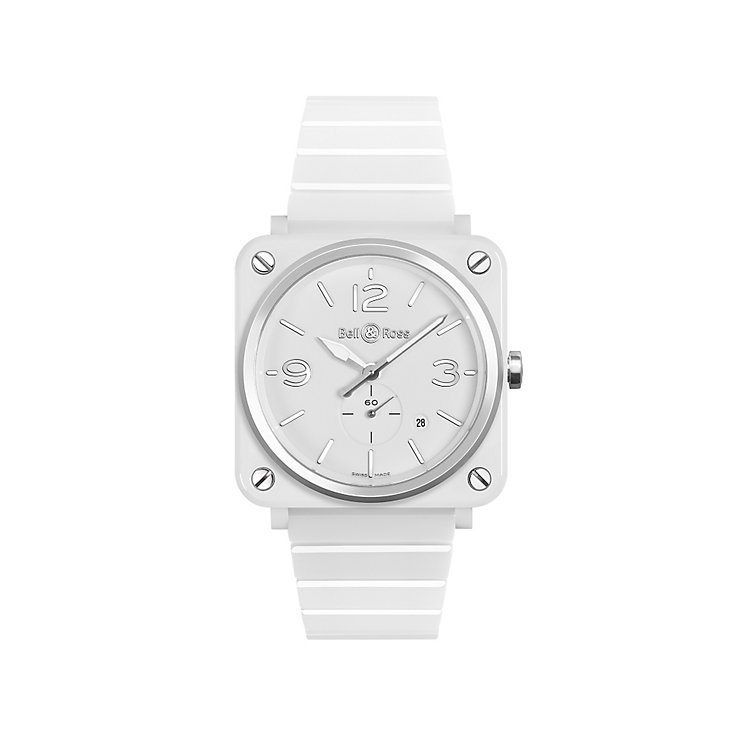 Bell and Ross Ladies' Ceramic White Bracelet Watch - Product number 4109724