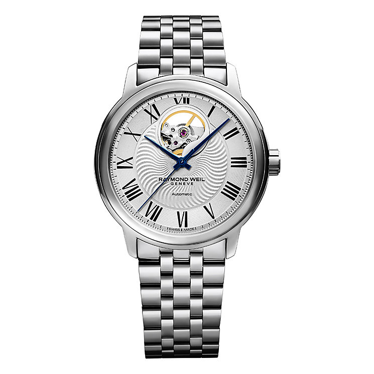 Raymond Weil Maestro Men's Skeleton Bracelet Watch - Product number 4109996