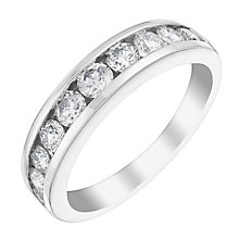 18ct White Gold 1ct Diamond Eternity Ring - Product number 4115317