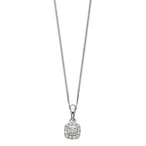 Leo Diamond 18ct platinum 0.20ct I-I1 pendant - Product number 4117166