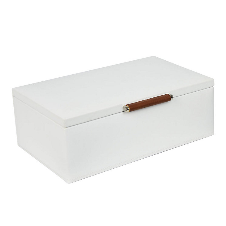Small Cream Jewellery Box - Product number 4122755