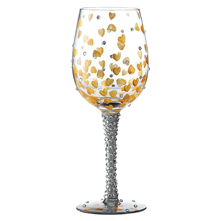 Lolita Heart Of Gold Standard Wine Glass - Product number 4127900