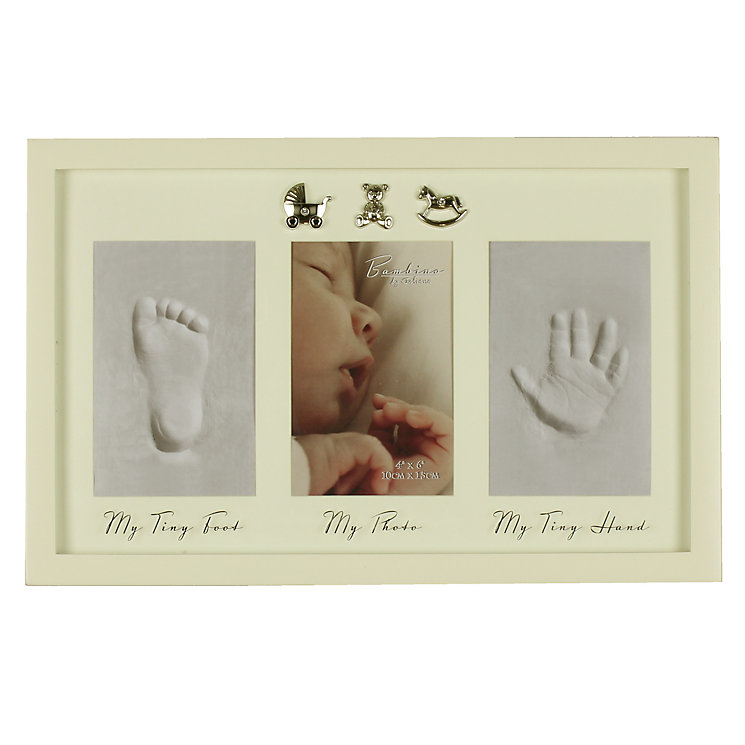 Childhood Memories Handprint & Footprint With Photo Frame - Product number 4127986