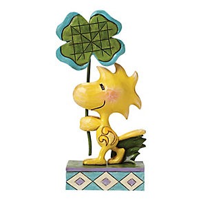 Peanuts Woodstock With Four Leaf Clover Figurine - Product number 4130944