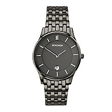 Sekonda Men's Gunmetal Grey Stainless Steel Bracelet Watch - Product number 4146042