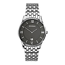 Sekonda Men's Grey Dial Stainless Steel Bracelet Watch - Product number 4146050