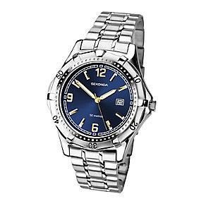 Sekonda Men's Blue Dial Stainless Steel Bracelet Watch - Product number 4146956
