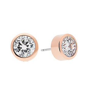 Michael Kors Park Avenue Rose Gold Tone Stud Earrings - Product number 4148967