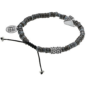 Cerruti Mother of Pearl Stones & Stainless Steel Bracelet - Product number 4151399