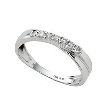 18ct white gold diamond wedding ring - Product number 4157702