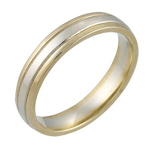 9ct Two Colour Gold Ladies