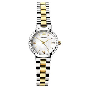 Sekonda Ladies' Two Colour Stainless Steel Bracelet Watch - Product number 4164571