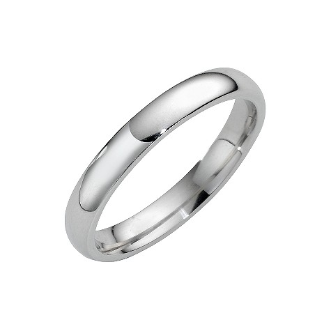 Platinum super heavy 3mm wedding ring
