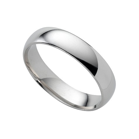 Platinum super heavy 5mm wedding ring