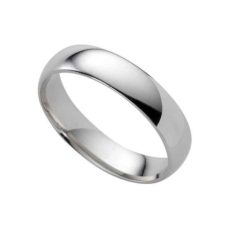 Platinum super heavy 5mm wedding ring - Product number 4166981