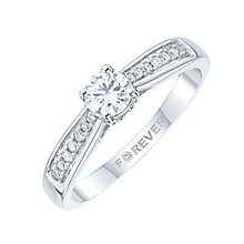 The Forever Diamond 18ct White Gold 2/5 Carat Diamond Ring - Product number 4169212