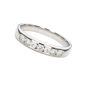 18ct white gold third carat diamond wedding ring - Product number 4172280