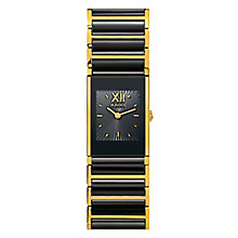 Rado Ladies' Stone Set Black Bracelet Watch - Product number 4183053