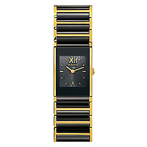 Rado Ladies' Stone Set Black Bracelet Watch - Product number 4183053