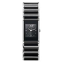 Rado Ladies' Two Colour Black Dial Bracelet Watch - Product number 4183193