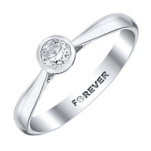 The Forever Diamond 18ct White Gold 1/4 Carat Diamond Ring - Product number 4185552