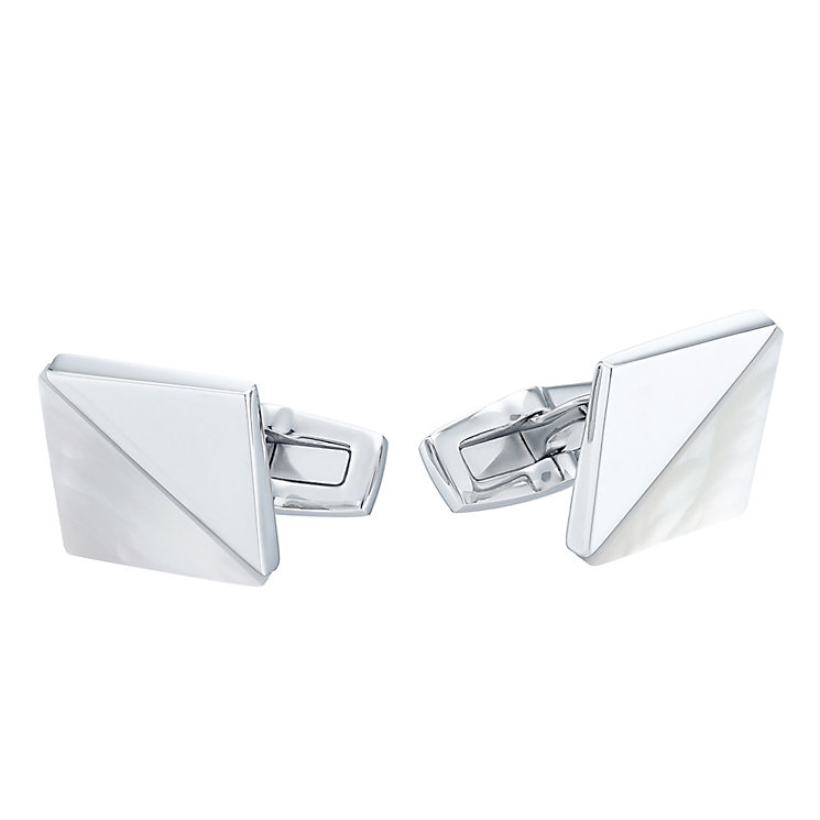 Hugo Boss Stainless Steel Square Cufflinks - Product number 4199014