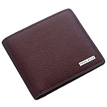 Hugo Boss Men's Red Leather Wallet - Product number 4199340