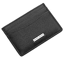 Hugo Boss Men's Black Leather Cardholder - Product number 4199421