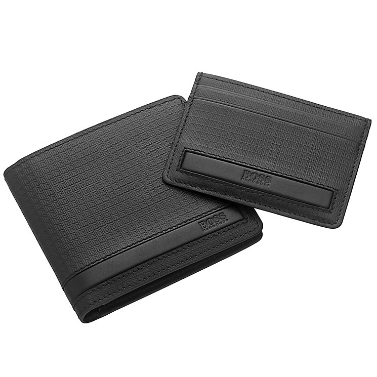 Hugo Boss Men's Wallet and Cardholder Gift Set - Product number 4199731