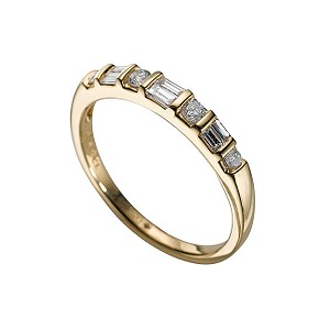 18ct gold quarter carat diamond ring - Product number 4209982