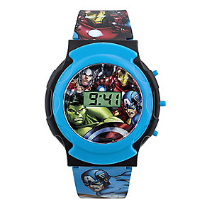 Children's Avengers Digital Strap Watch - Product number 4210646