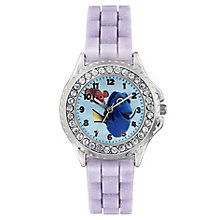 Children's Disney Dory Purple Rubber Strap Watch - Product number 4211391