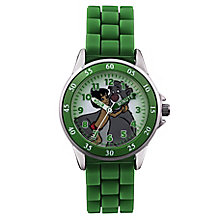 Jungle Book Children's Time Teacher Green Strap Watch - Product number 4219031