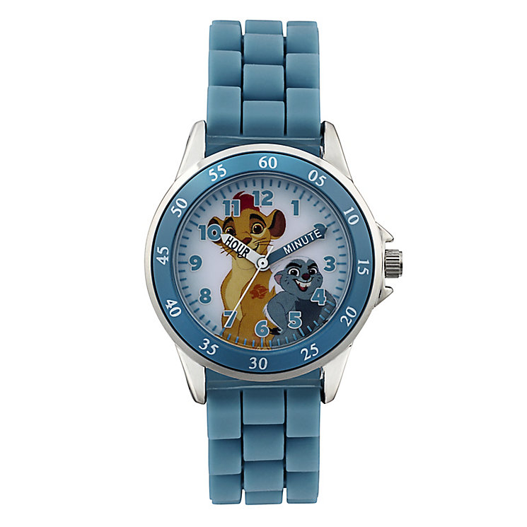 Children's Lion Guard Time Teacher Blue Strap Watch - Product number 4219066