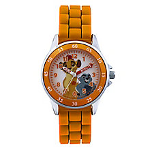 Children's Lion Guard Time Teacher Orange Strap Watch - Product number 4219074