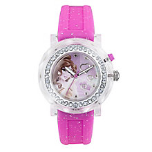 Children's Belle Flashing Pink Strap Watch - Product number 4219082