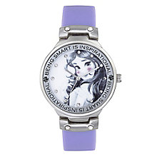 Children's Belle Quote Blue Strap Watch - Product number 4219104