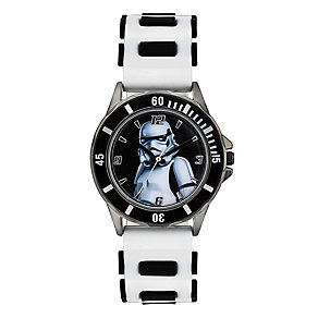 Star Wars Children's Storm Trooper White Strap Watch - Product number 4219139
