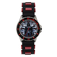 Star Wars Children's Darth Vader Black & Red Strap Watch - Product number 4219147