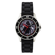 Star Wars Children's Kylo Ren Time Teacher Black Strap Watch - Product number 4219155